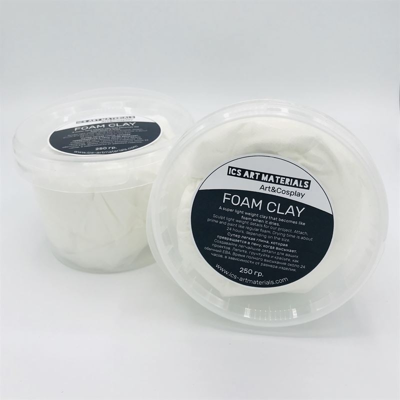 Foam Clay White